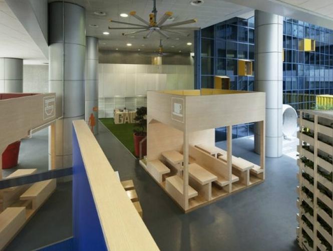 Interior And Furniture Design Schools ~ Modern school interior constructing kids