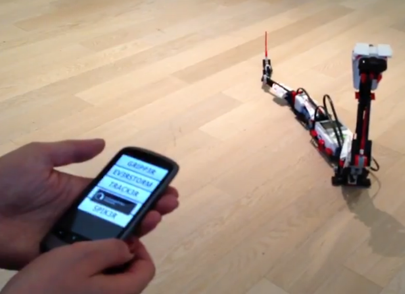 control LEGO robots with your smartphone – LEGO Mindstorm