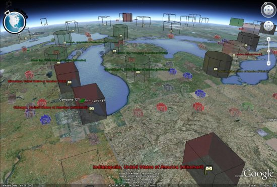 Conquer the world with more than 80.000 other players. Google Earth War