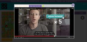 Mark Zukerberg Hour of Code