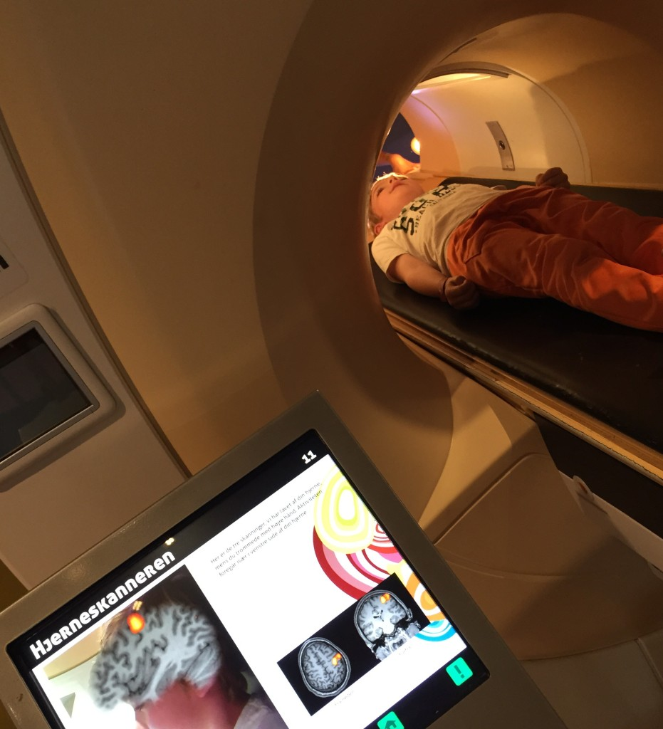 The CT scanner